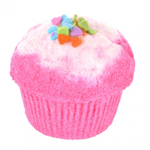 Bath Muffin - Freaking Fuchsia