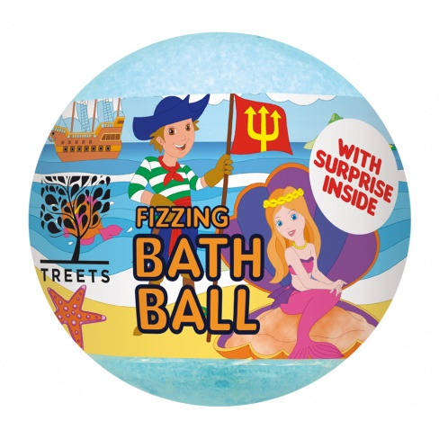 Bath Ball - Surprise Blue