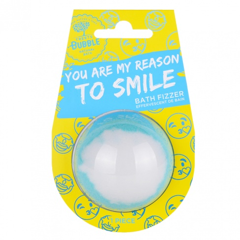 Bath Ball with message - Reason to Smile