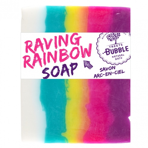 Soap Bar - Raving Rainbow