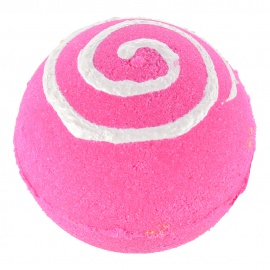 Bath Ball - Pink Swirl