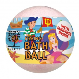Bath Ball - Surprise Pink